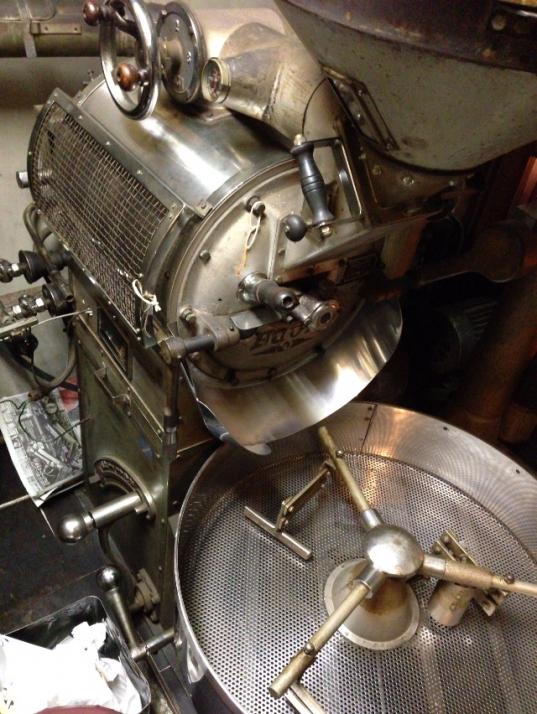 富士ローヤル熱風式焙煎機10kg