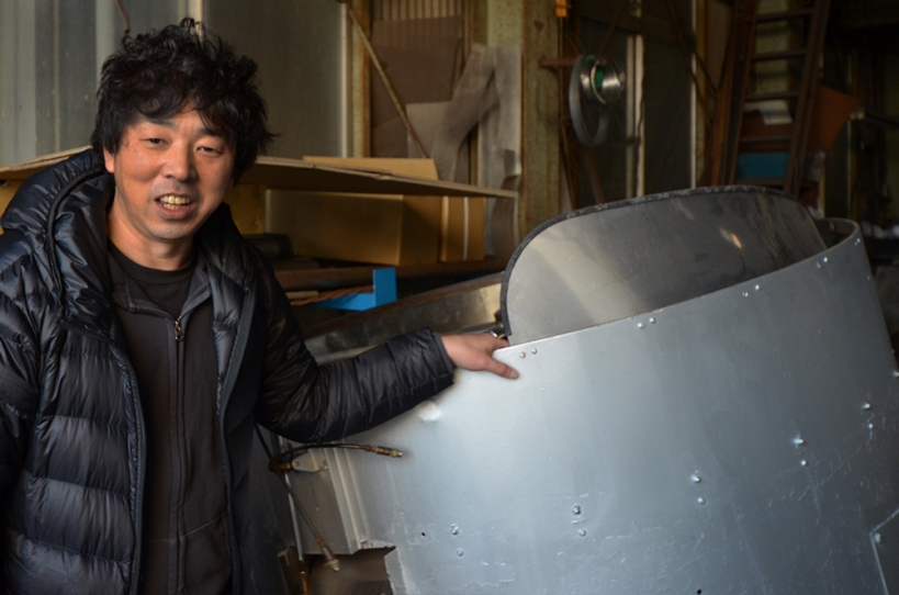 珈琲焙煎機60kg冷却装置