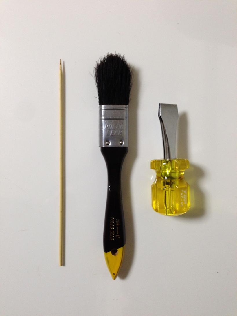 コーヒーグラインダー(ミル) 掃除道具