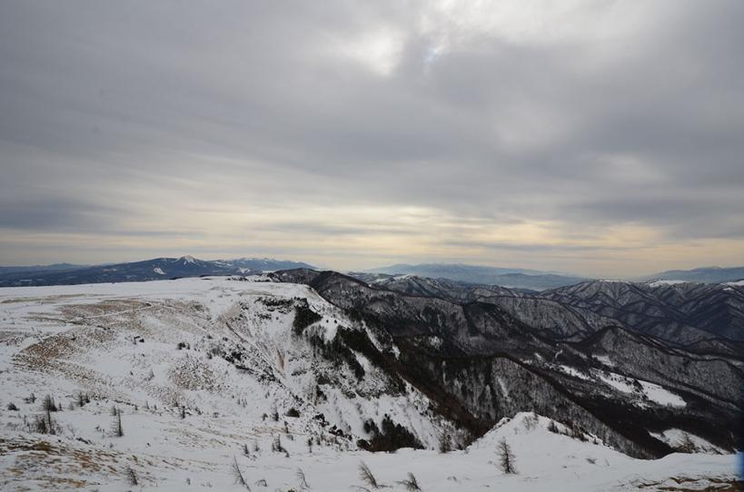 冬の美ヶ原高原