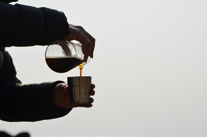 アウトドア ドリップコーヒー3
