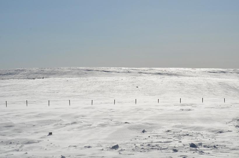 美ヶ原高原 冬の丘 2
