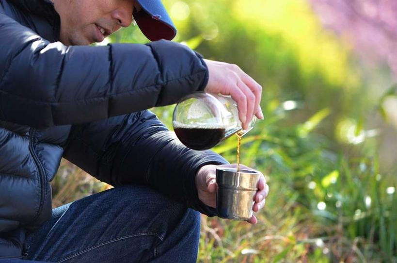 アウトドアコーヒー2