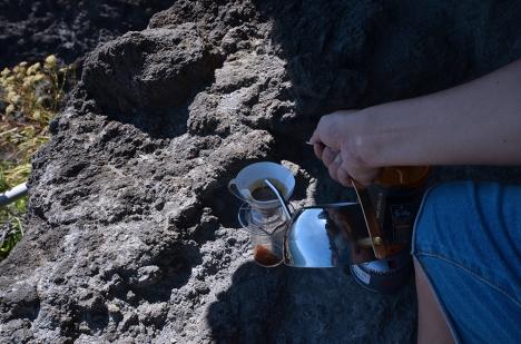 アウトドアコーヒー 石廊崎03
