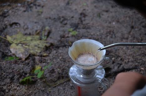 アウトドアコーヒー