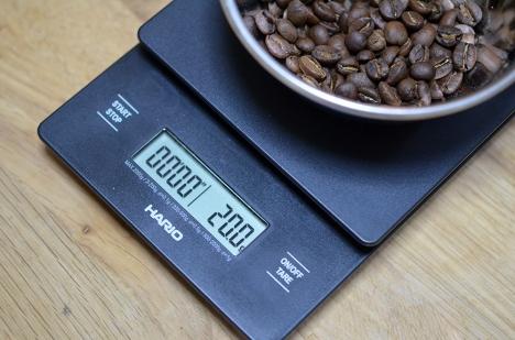 コーヒーミル フジローヤル-みるっこDX-R-220-17-計量