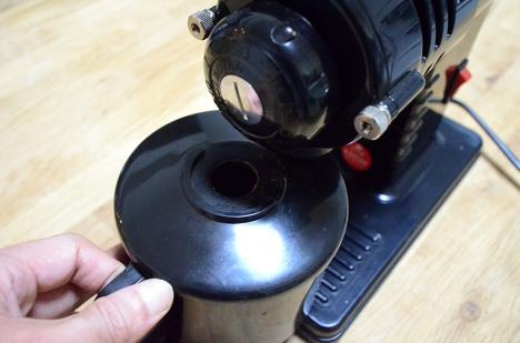 コーヒーミル フジローヤル-みるっこDX-R-220-15-粉受け