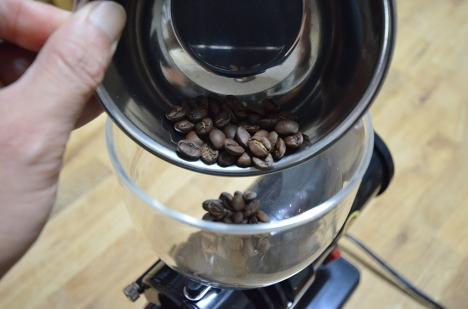 コーヒーミル フジローヤル みるっこDX R-220 09 使い方