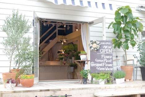 Blumen Hütte