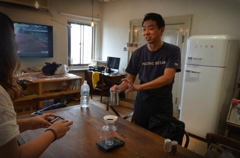 MORIFUJI COFFEE セミナー