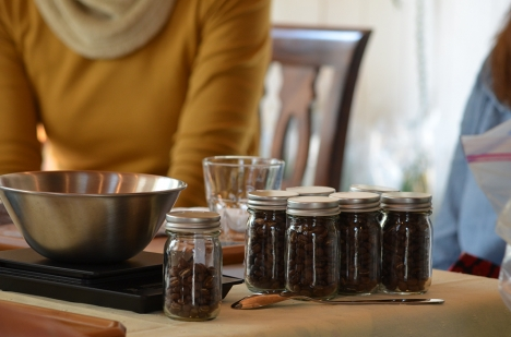 MORIFUJI-COFFEE-in-Blumen-Hutte-ワークショップ2