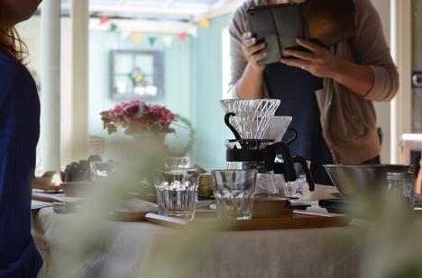 MORIFUJI-COFFEE-in-Blumen Hutte-ワークショップ1