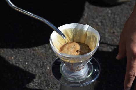 アウトドアコーヒー ドリップ
