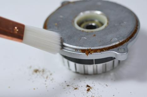 カリタ ナイスカットミル 22 ダイアルアッセンブリー掃除