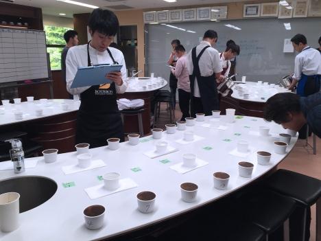 Roasted Coffee 参加型品質ワークショップ カッピング