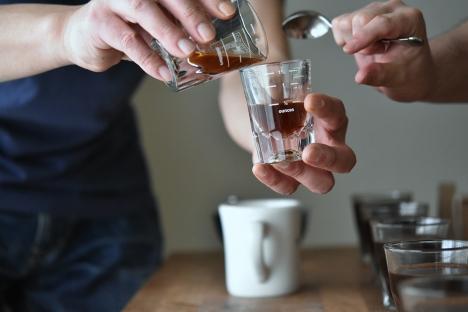 ブレンドコーヒー作り方